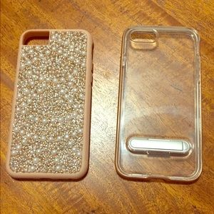 2 phone cases    Dazzled and stand-up